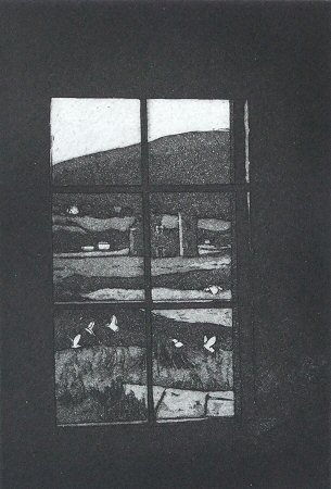 Etching by Diana Slee